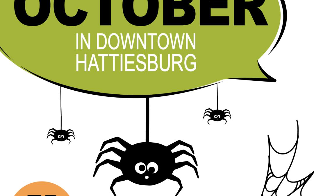 October in Downtown Hattiesburg